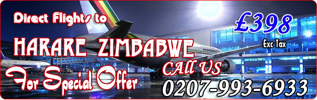 flights to zimbabwe